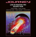 【Aポイント+メール便送料無料】ジャーニー Journey / Live in Houston 1981: The Escape Tour...