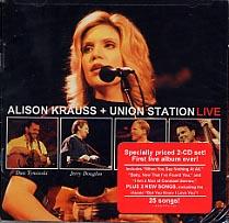 フォーク・カントリー, その他 CDAlison Krauss Union Station Live ()