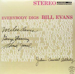 輸入盤LPレコード BillEvans/EverybodyDigsBillEvans(ビル・エウ゛ァンス)