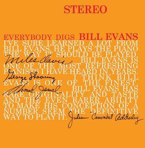 輸入盤LPレコード BillEvans/EverybodyDigsBillEvans(UK盤)(ビル・エウ゛ァンス)
