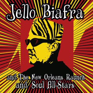 【輸入盤LPレコード】Jello Biafra/New Orleans Raunch/Soul All-Stars / Walk On Jindals Splinters