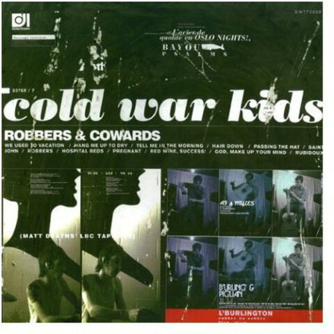 Cold War Kids / Robbers & Cowards【輸入盤LPレコード】(コールド・ウォー・キッズ)