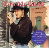 【メール便送料無料】Tim McGraw / Not A Moment Too Soon (輸入盤CD) (ティム・マックグロウ)