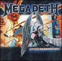 【輸入盤CD】Megadeth / United Abominations (メガデス)