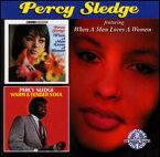 【メール便送料無料】Percy Sledge / When A Man Loves A Woman/Warm & Tender Soul (輸入盤CD) (パーシー・スレッジ)