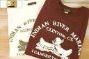 COLIMBO コリンボ PRINT TEE INDIAN RIVER MARINA プリント Tシャツ ヘビーウエイト 2019 新作 ZU-0411 2colors 送料無料