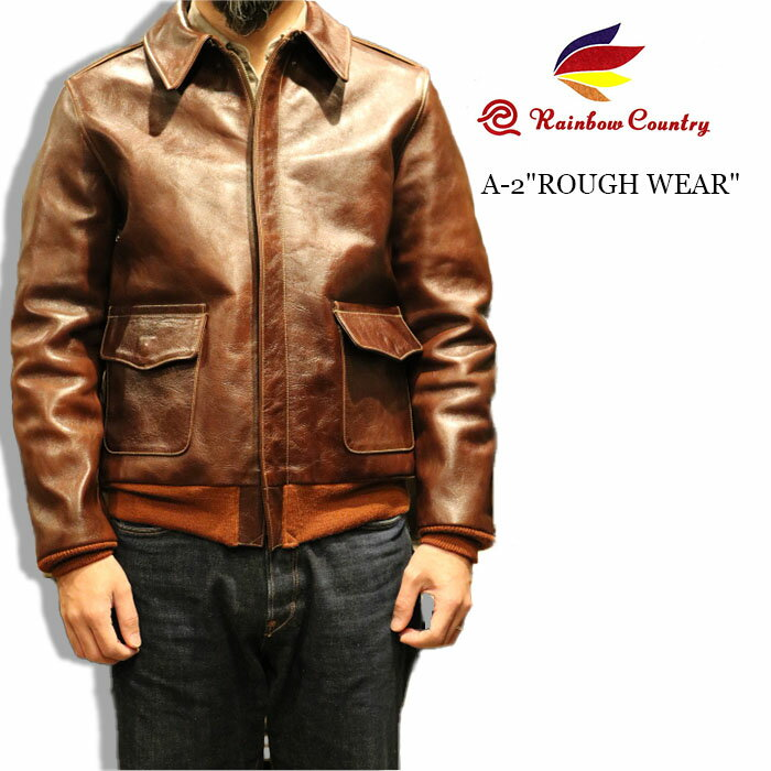 メンズファッション, コート・ジャケット RAINBOW COUNTRY TYPE A-2 ROUGH WEAR CLOTHING RCL-10071