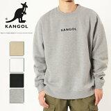 KANGOL カンゴール スウェット トレーナー クルーネック トップス メンズ レディース ユニセックス 刺繍 ロゴ バックプリント C6060N