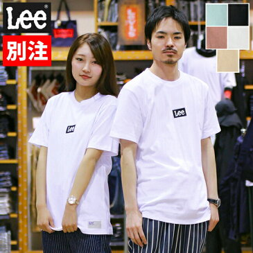 40%OFF Lee リー メンズ Tシャツ 半袖 メンズ レディース ユニセックス ボックスロゴ GLT079-1 ジーンズショップアメリカ屋 別注品番