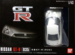 1/43 NISSAN GT-R【R35】 塗装済組立モデル[バンダイ]《取り寄せ※暫定》