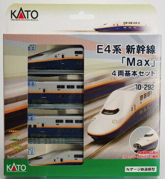 10-292 E4系新幹線〈Max〉4両基本セット(再販)[KATO]《発売済・在庫品》