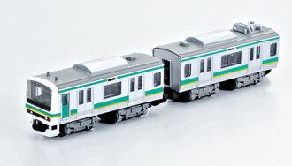 B-Train Shorty - E231 Joban Line (Set of 2 Cars) (Leading + Middle Car)(Released)(Bトレインショーティー E231系・常磐線 2両セット(先頭+中間車))