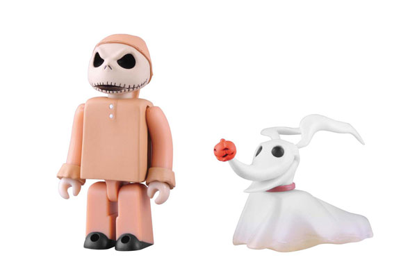 Kubrick No.281 Pajama Jack and Zero Two-Pack Set (Nightmare Before Christmas)(Back-order)(キューブリック No.281 パジャマ・ジャック&ゼロ ツーパック セット(ナイトメアー・ビフォア・クリスマス))