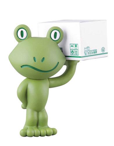 Vinyl Collectible Dolls No.164 Bayside Shakedown Kaeru Express (w/ Buildable Kaeru Express Cardboard Box)(Back-order)(ヴァイナルコレクティブルドール No.164 踊る大捜査線 カエル急便(組立式カエル急便段ボール付属))