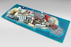 塗装済完成品 ハイ・スタンダード情景 1/1400 軍艦島(瑞島)[スカイネット]《在庫切れ》