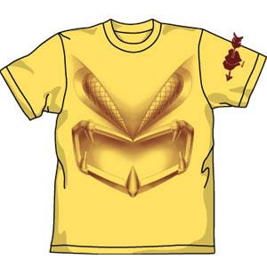 機動戦士ガンダム ザクレロフェイスTシャツ/バナナ-L[コスパ]《在庫切れ》