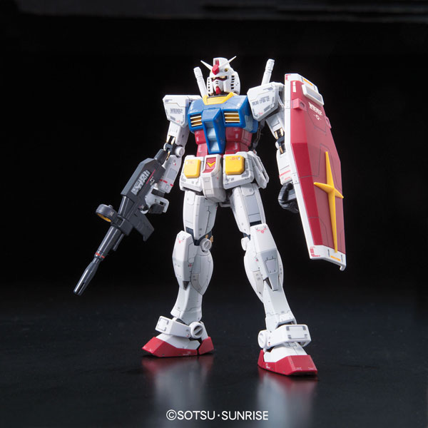 Bandai model kits RG 1144 RX-78-2