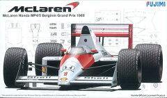 プラモデル グランプリシリーズ No.22 1/20 マクラーレン ホンダ MP4/5 ベルギーGP[フジミ模型]...