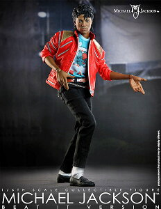 【HOTTOYS 10周年 限定品】マイコン 1/6スケールフィギュア マイケル・ジャクソン(今夜はビート...
