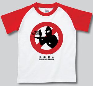 ウルトラ ピクトサインTシャツ ウルトラマン(光線禁止)-L[インスパイア]《取り寄せ※暫定》