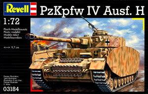 ドイツ・レベル プラモデル 1/72 IV号戦車 H型(再販)[ハセガワ]《在庫切れ》
