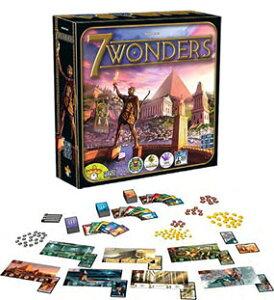 ボードゲーム 世界の七不思議(7 Wonders)【日本語版】(再販)[ホビージャパン]《発売済・在庫品》