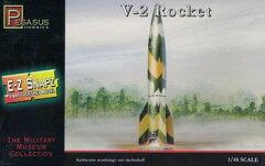 ペガサスホビー プラモデル 1/48 V2ロケット[プラッツ]《取り寄せ※暫定》