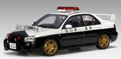 オートアート ダイキャスト・モデルカー 1/18 スバル インプレッサ WRX STi '03 ポリスカー (...