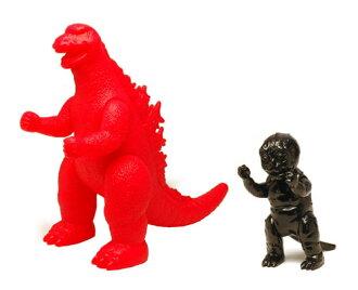 M-POP Vivid Object Godzilla 450 & Minya 250 (2 Figure Set)(Back-order)(M-POP ビビットオブジェ ゴジラ450&ミニラ250 2体セット)