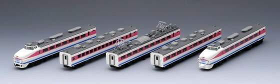 92446 489 Series Limited Express Train (Hakusan Color) Basic Set(Back-order)(92446 489系特急電車(白山色)基本セット)