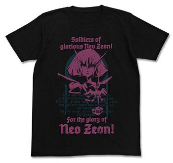 機動戦士ガンダムZZ ハマーン・カーンTシャツ/ブラック-M(再販)[コスパ]《02月予約》