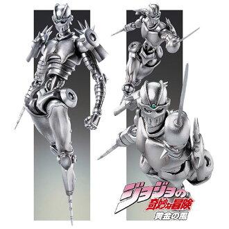 Super Action Statue - JoJo's Bizarre Adventure Part.V #42 The Silver Chariot Complete Figure (Hirohiko Araki Specified Color)(Released)(超像可動 ジョジョの奇妙な冒険 第五部 42.シルバー・チャリオッツ 完成品フィギュア)