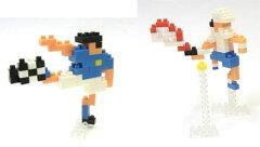 nanoblock(ナノブロック) × 大図まこと NBCB-004 球技(サッカー&テニス)[カワダ]《発売済・在...