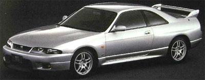 MIRAGE レジンモデル 1/43 Nissan Skyline GT-R V-spec (R33) Spark Silver[hpi]《取り寄せ※暫定》
