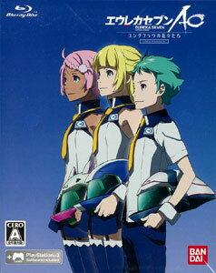 PS3 エウレカセブンAO -ユングフラウの花々たち- 初回限定生産版 ゲーム&OVA ハイブリッドディ...