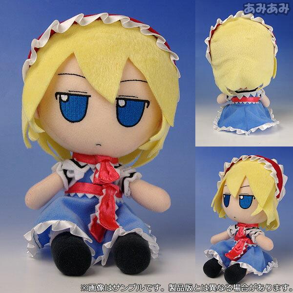 Touhou Plush Series 06 [Alice Margatroid] FumoFumo Alice.(Released)(東方ぬいぐるみシリーズ06【アリス・マーガトロイド】 ふもふもありす。)