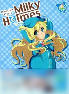 BD 探偵オペラ ミルキィホームズ 第2幕 4 (Blu-ray Disc)[ポニーキャニオン]《取り寄せ※暫定》