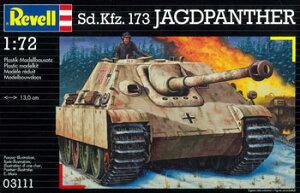 ドイツ・レベル プラモデル 1/72 Sd.Kfz173 ヤークトパンサー[ハセガワ]《取り寄せ※暫定》