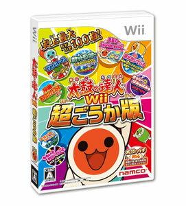 Wii 太鼓の達人Wii 超ごうか版 ソフト単品版[バンダイナムコゲームス]《取り寄せ※暫定》