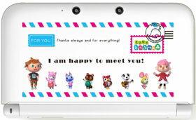 3DS LL用 ボディカバーコレクション for 3DS LL(どうぶつの森)【Type-A】