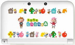 3DS LL用 ボディカバーコレクション for 3DS LL(どうぶつの森)【Type-B】
