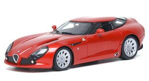 ヴィジョン ハンドメイドモデルカー 1/43 アルファロメオ TZ3 ストラダーレ メタリックレッド[...