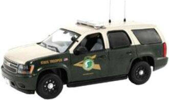 """ファーストレスポンス ダイキャスト製 1/43 Chevy Tahoe Police """"New Hampshire State Police""""[ファーストレスポンス]《取り寄せ※暫定》(First Response Diecast Model 1/43 Chevy Tahoe Police """"New Hampshire State Police""""(Back-order))"""