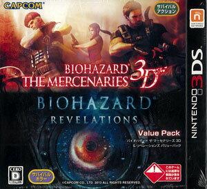 3DS Biohazard: The Mercenaries 3D & Revelations Value Pack(Released)(3DS バイオハザード ザ・マーセナリーズ 3D&リベレーションズ バリューパック)