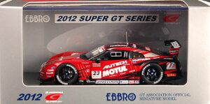 EBBRO(エブロ) モデルカー 1/43 MOTUL AUTECH GT-R Low Down Force SUPER GT500 2012 No.23[エ...