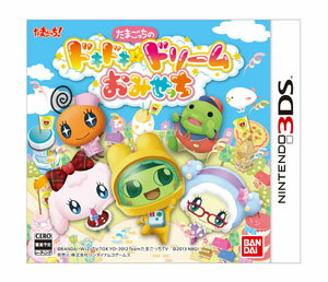 3DS Tamagotchi no DokiDoki Dream Omisetchi