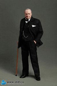 イギリス首相 ウィンストン・チャーチル アクションフィギュア 単品[DID]《06月仮予約》