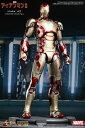 ムービー・マスターピース DIECAST アイアンマン3 1/6スケール フィギュア アイアンマン3-マーク42 単品[ホットトイズ]《02月仮予約》【MARVELcorner】