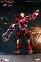 パワー・ポーズ アイアンマン3 1/6スケール限定可動フィギュア アイアンマン・マーク35(レッド...
