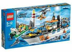 レゴ シティ 60014 レスキューパトロールシップとヘリ[レゴジャパン]《07月予約》